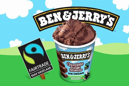 Being green at ben jerry s