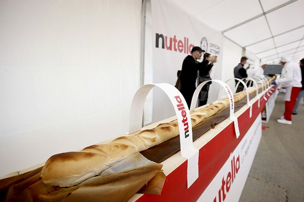 panino nutella expo